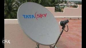 Tata sky set up box and antena (not much used) - Rs