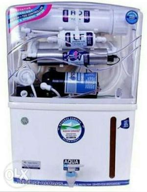 White And Blue Aqua Water Purifier System