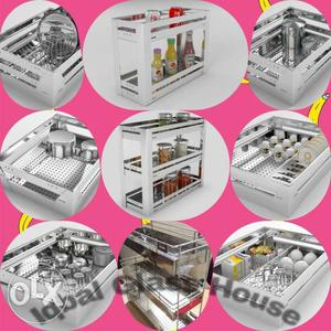 Bosco Modular kitchen basket accessories