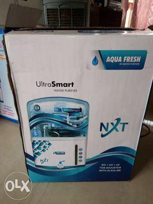 White And Blue Aqua Fresh Water Purifier Box