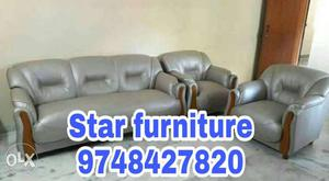 3+1+1 seater zip sofa set with customized and 5