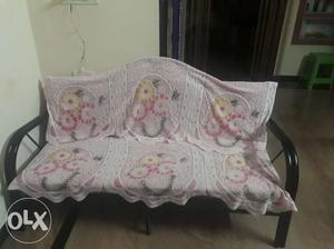 5 Seater Steel Sofa with new condition