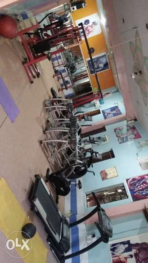 All gym equipment for sale good condition one