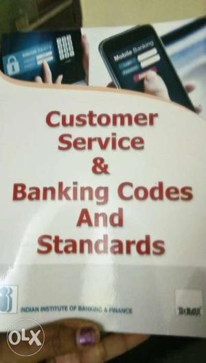 Banker code and customer service standard