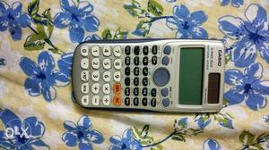 Casio scientific calculator latest. 1 year used.