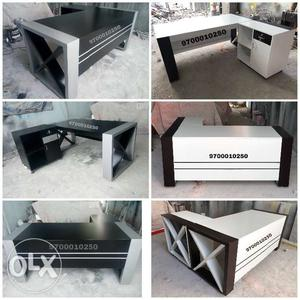 Exclusive designed deco painted MD tables in all