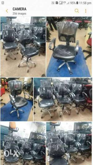 Office Chair Black Neat Per Pice  good