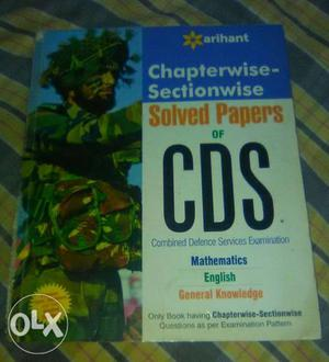 Solved Papers Of CDS Textbook