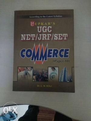 Ugc Net/jrf/set commerce paper 2