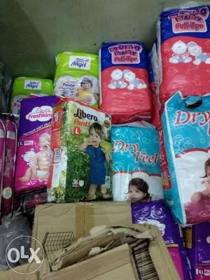 We sell all types of daipers wholesale retail