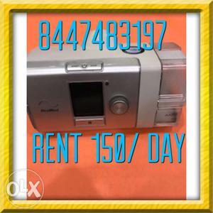 Bipap machine on rent rs 150 Oxygen machine rent