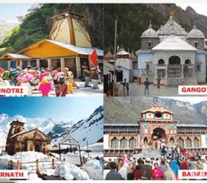Chardham Yatra Tour Package From Haridwar Mumbai