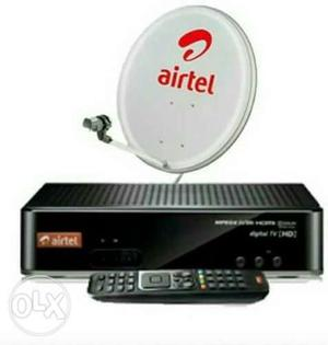 AiRTeL D2H SeT Up BoX 1YeaR OlD NoT Ungent