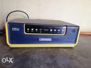 Black And Yellow Luminous Inverter
