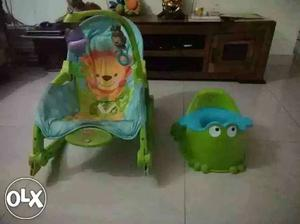 Fisher Price Rocker, Potty and Bathtub..all r in