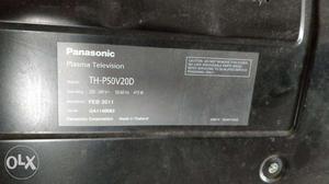 Panasonic 50 inch plasma tv