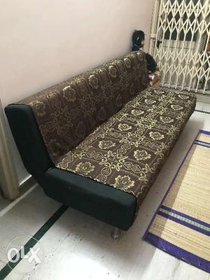 Sofa which can be converted to bed is up for