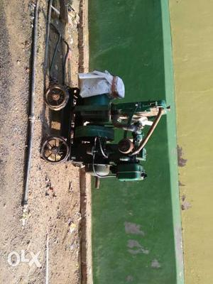Green And Black Power Generator
