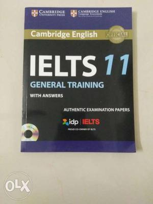 IELTS General Training 11 Book with CD and Audio