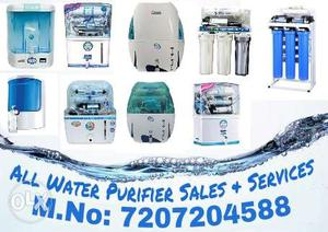 All Types of RO Water Purifier Sales And Services... M.no: