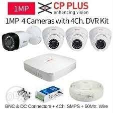 CP Plus 1mp Camera set