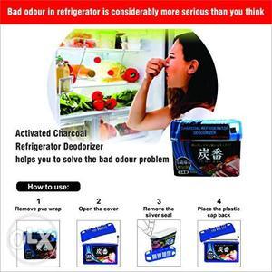 Charcoal Refrigerator deodorizer (Set of 2)