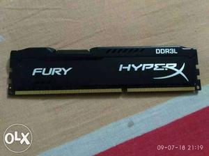 DDR3 ram 4 gb  mhz kingstone hyperxfurry class 11