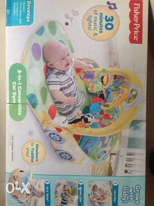 Fisher price -3 in 1 convertible car gym -3