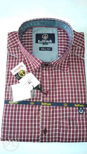Gud febric shirts in gud price limited offer