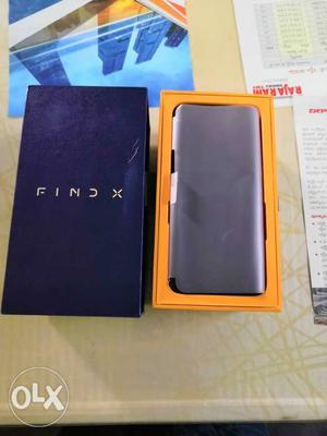 Oppo Fine X Just Box Opened