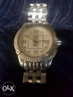 Bentley watch silver colour for ladies need to