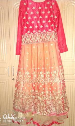 Brand new party wear floor length gown. Full