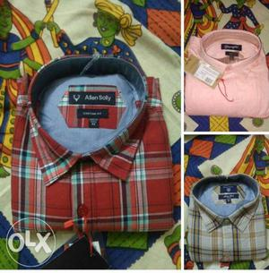 Branded 2 shirts available wholesale price 799