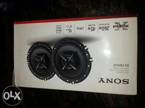 Sony Xplod 2 way speaker xs-FB162E not use full