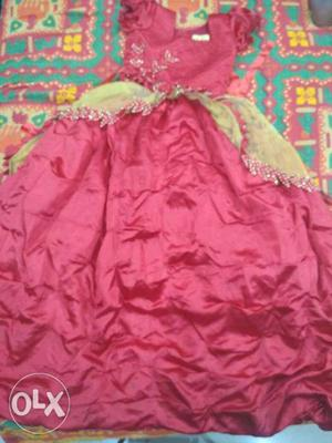 A Good Quality Party Wear Evening Gown For