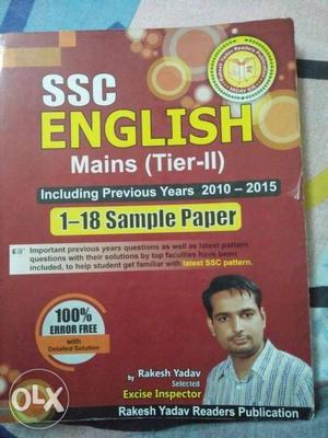 SSC CGL English Tier  paper