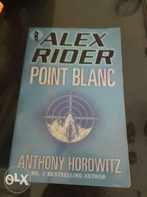 Alex Rider Point Blanc Book By Anthony Horowitz