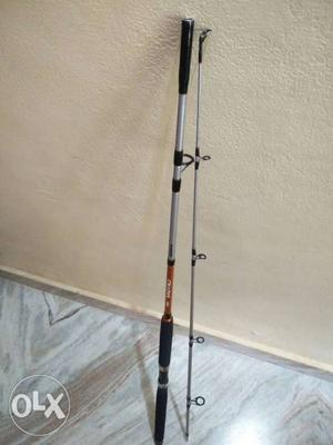 Black And Gray Fishing Rod Shimano rod
