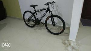 New cycles with 21 speed dual disc, front