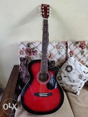This guitar is a brand new piece along with a new