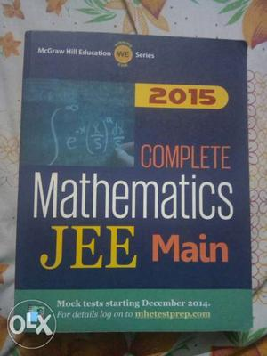 JEE Mains Mathematics book new condition actual