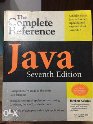 7th Edition - The Complete Reference Java