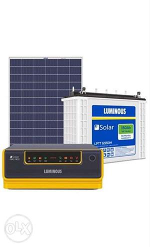 Brand new luminous solar inverter off grid with bill
