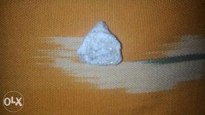 White And Blue Stone Fragment