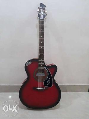 An acoustic brand new guitar for sell. Year made sept ..