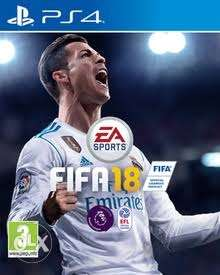 FIFA 18 for PS4 in excellent condition for sale