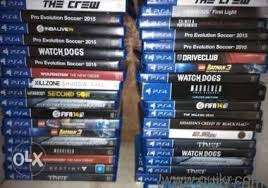 Latest PS4 games available on rent starting Rs.