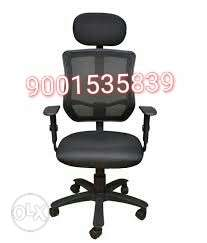 New mesh back office chair with adjustable headrest office