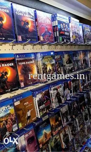 PS4 Xbox games buy sell rent load over  games