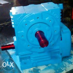 Reduction gear box and induction motors